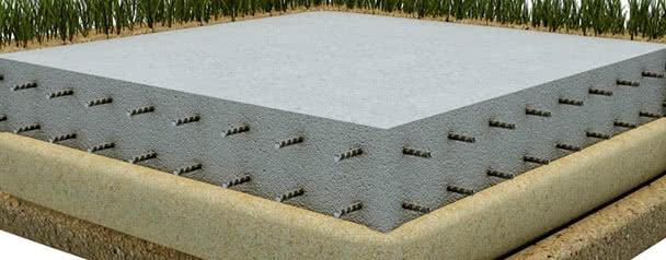 фундамент плита для дома из бруса